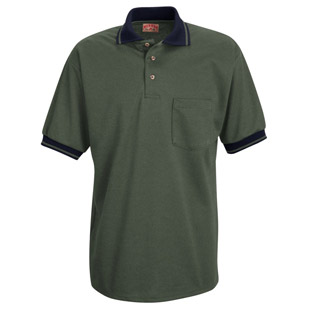 Unisex Performance Knit Twill Weave Polo Shirt - Click for Large View