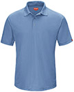 Men's Performance Knit Gripper Front Polo
