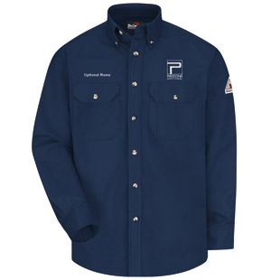 Payzone Flame Resistant Comfortouch Dress Uniform Shirt - Click for Large View
