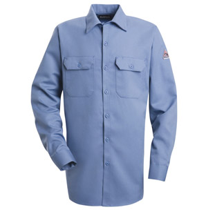 Flame Resistant Excel-FR 7.0 oz. Comfortouch Button Front Work Shirt - Click for Large View