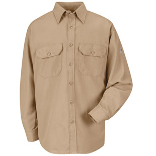 Flame Resistant Cooltouch 2 Dress Uniform Shirt - Click for Large View
