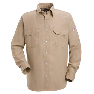Nomex IIIA Flame Resistant 4.5 oz. Snap Front Deluxe Shirt - Click for Large View