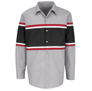 Red Kap Generic Uniform Long Sleeve Mechanic Shirts - Click for Large View