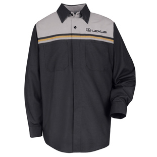 Lexus Mechanic Long Sleeve Shirt - Click for Large View