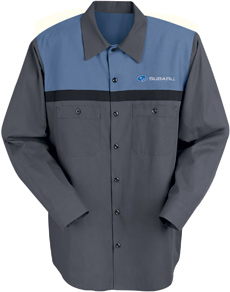 Subaru Mechanic Short Sleeve Shirt - Click for Large View