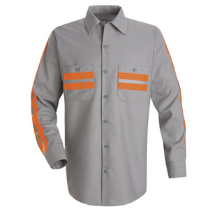 Enhanced Visibility Long Sleeve Shirt - Click for Large View