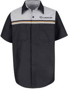 Lexus Technician Short Sleeve Shirt - Click for Large View