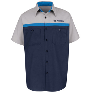 Mazda Technician Short Sleeve Shirt - Click for Large View