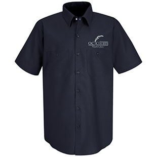 OC Court TouchTex Short Sleeve Work Shirt - Click for Large View