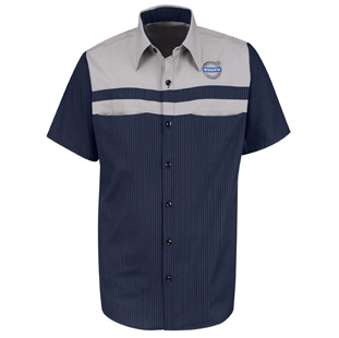 Volvo Mechanic Long Sleeve Shirts - Click for Large View