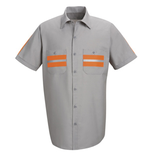 Enhanced Visibility Short Sleeve Shirt - Click for Large View