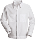 Men's Hospitality Poly-Cotton Blend Long Sleeve Shirt Jac