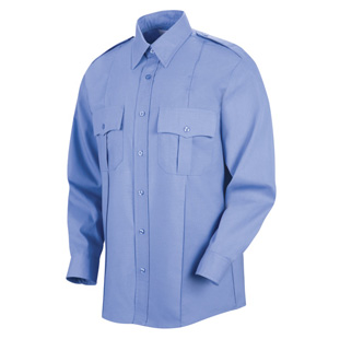 Sentinel Mens Upgraded Long Sleeve Security Shirt - Click for Large View