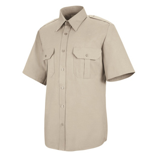 Sentinel Mens Basic Short Sleeve Security Shirts - Click for Large View