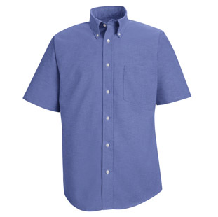 Red Kap Mens Executive Oxford Short Sleeve Shirts - Click for Large View