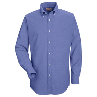 Red Kap Mens Executive Oxford Long Sleeve Shirts - Click for Large View