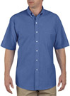 Dickies Short Sleeve Button-Down Oxford Shirt
