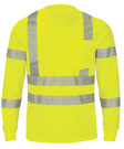 Performance Hi-Visibility Long Sleeve Tee - Type R, Class 3