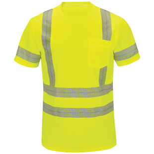 Performance Hi-Visibility Short Sleeve Tee - Type R, Class 3 - Click for Large View