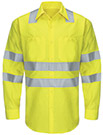 Hi-Visibility Long Sleeve Ripstop Work Shirt - Type R, Class 3