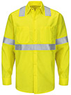 Men's Hi-Visibility Ripstop Long Sleeve Work Shirt - Type R Class 2