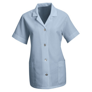 Red Kap Womens Short Sleeve Housekeeping Smock - Click for Large View