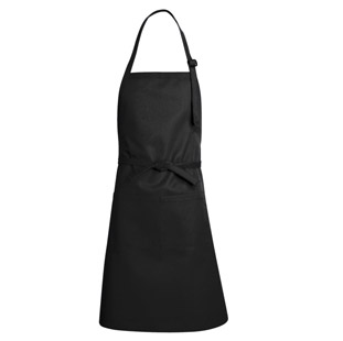 Bib Apron - Full Length with Front Pocket - Click for Large View