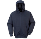 Portwest FR Zipper Front Hooded Sweatshirt - CAT2