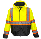 Portwest Hi-Vis 2-in-1 Contrast Tape Bomber Jacket - Type R, Class 3