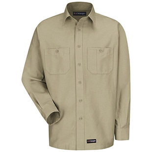 Universal Services Provider Wrangler Workwear Long Sleeve Shirt - Click for Large View