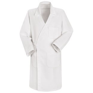 Unisex 100% Polyester Butcher Wrap with Pockets - Click for Large View