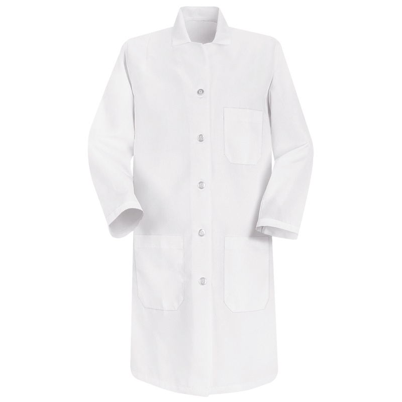 Women's Basic White Lab Coat - 5210WH