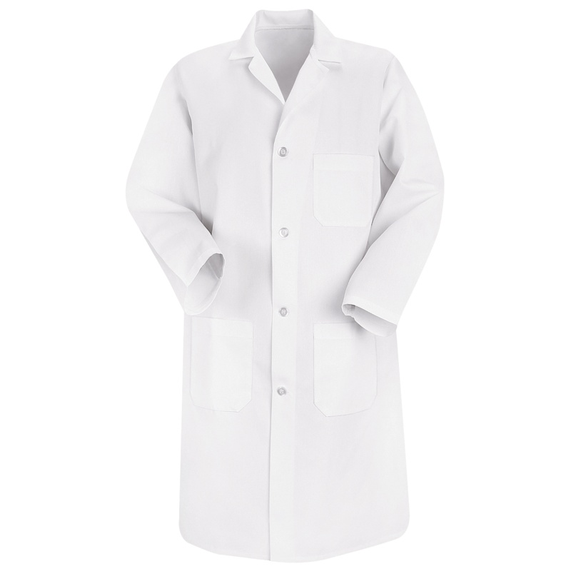 Men's Basic White Lab Coats - 5700WH