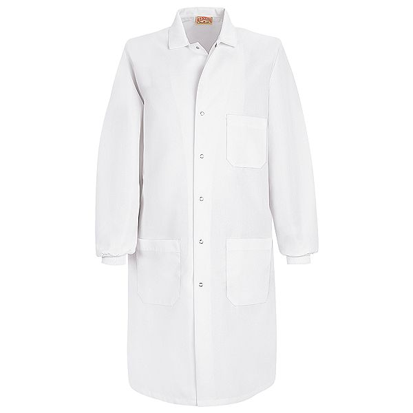 Unisex Specialized Cuffed White Lab Coats - KP70-72