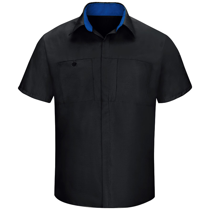 e132dddc3 Red Kap Short Sleeve Performance Plus Shop Shirt with OilBlok Technology -  Click for Large View. Sale