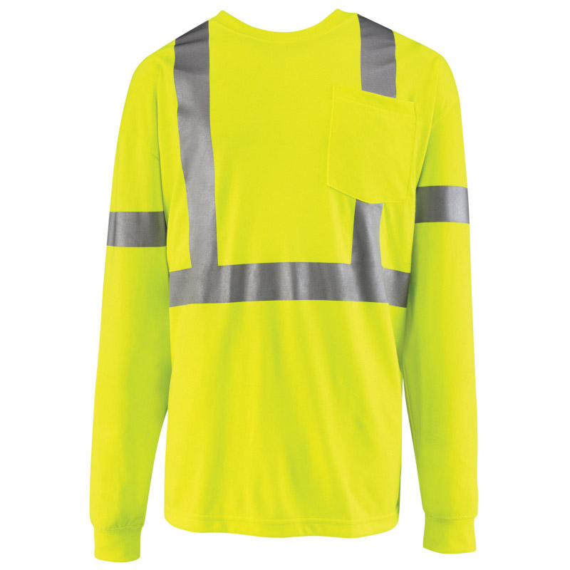 High Visibility Long Sleeve T Shirt Class 2 Level 2 Syk2hv